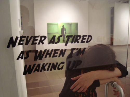 Niciodata mai obosit(a) ca atunci cand ma trezesc