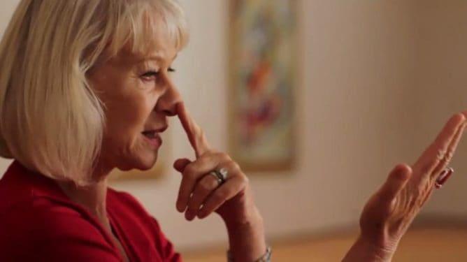 Arta lui Vasili Kandinski interpretată de Helen Mirren