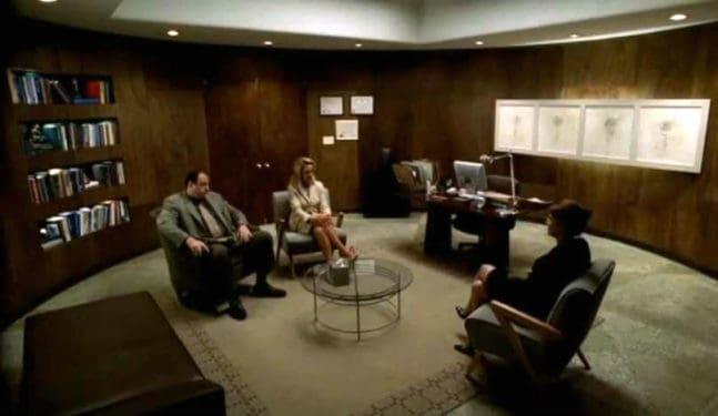 Psihanaliză cu naşul (X): Carmela şi Tony, prima şedinţă împreună cu dr. Melfi