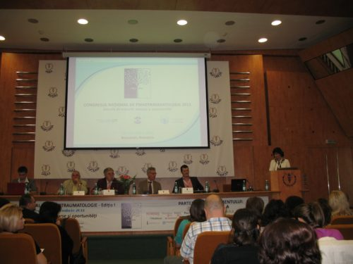 Congresul National de Psihotraumatologie la prima editie