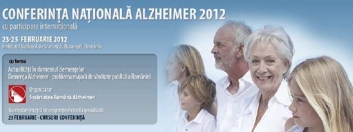 Conferinţa Naţională Alzheimer, Bucureşti, 23-25 februarie 2012
