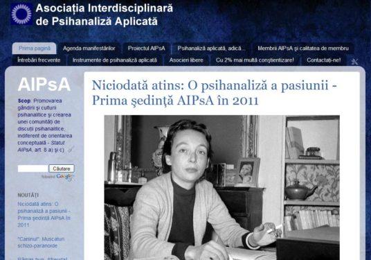 Relansăm site-ul AIPsA!