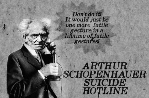 Arthur Schopenhauer... S. O. S. suicid