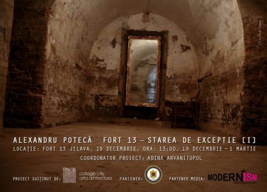 """Alexandru Potecă, """"Starea de excepție [I] – Fort 13 Jilava"""""""