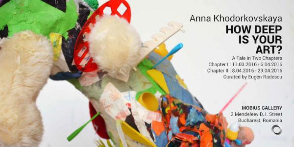 Anna Khodorkovskaya How Deep Is Your Art Bucharest Biennale