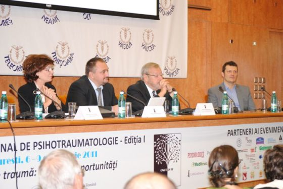 Congresul Naţional de Psihotraumatologie 2011 - o primă ediţie de succes