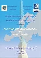 Al 17-lea Congres European de Psihoterapie se va desfăşura la Bucureşti