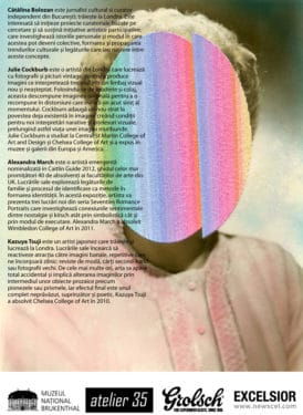 Curing Nostalgia, Remedies for a Historical Emotion @ Atelier35, București, 28 august 2012