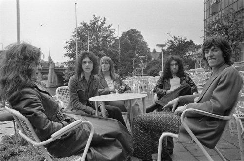 Free Amsterdam 1970 Paul Kossoff, Andy Fraser, Simon Kirke, Paul Rodgers & Steve Winwood