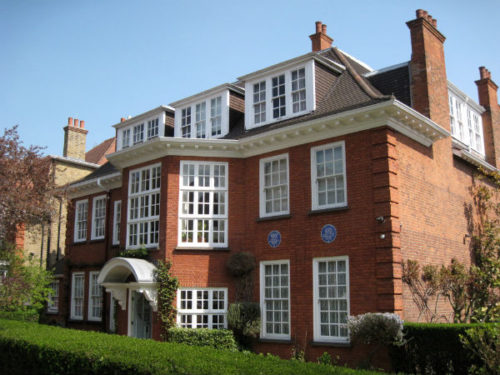 Freud Museum 20 Maresfield Gardens Hampstead London NW3 England