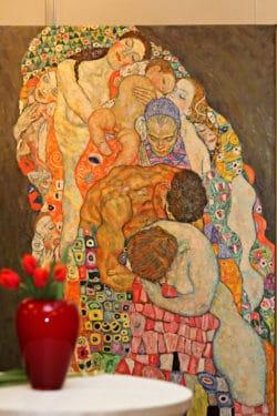 Expoziție dedicată lui Gustav Klimt la București