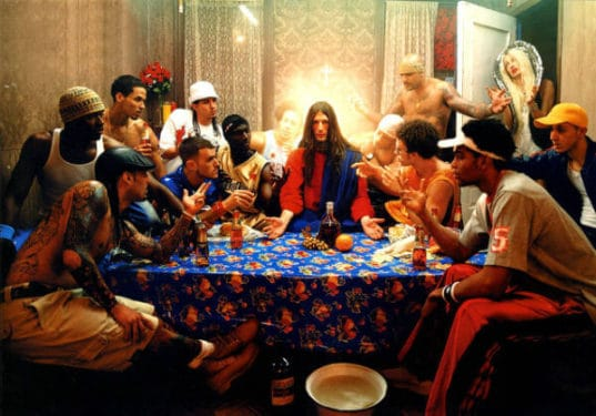 David LaChapelle, Last Supper Cina cea de taina