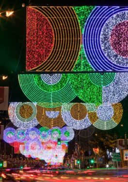 Crăciun psihedelic la Madrid