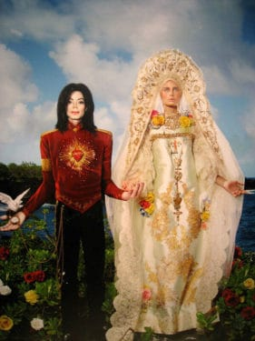 michael jackson david lachapelle american jesus beatification