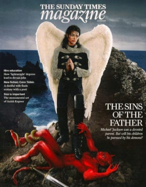 michael jackson david lachapelle sunday times magazine
