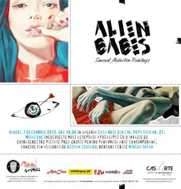 Mihai Ene, Alien Babes – o alternativă (senzuală) de a petrece sfârşitul lumii