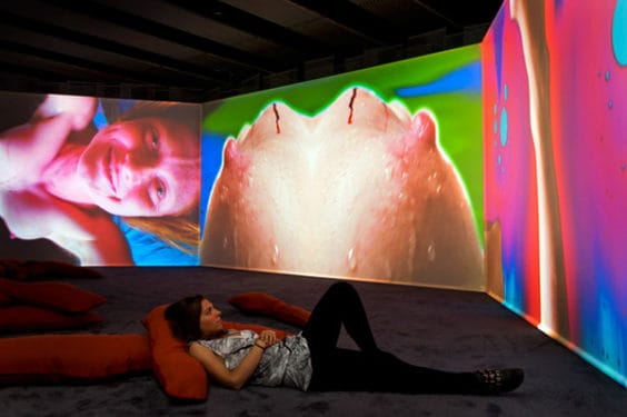 Pipilotti Rist's Eyeball Massage at Hayward Gallery