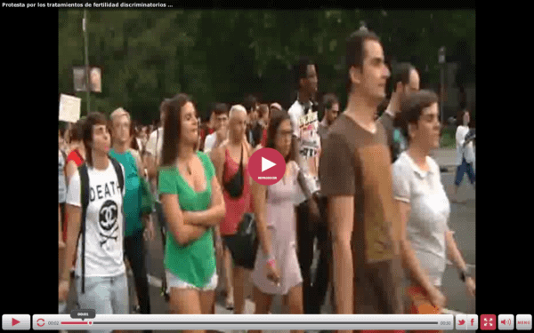 Metode inovative de protest politic: Madrid
