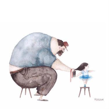 Snezhana Soosh iubire tata fiica