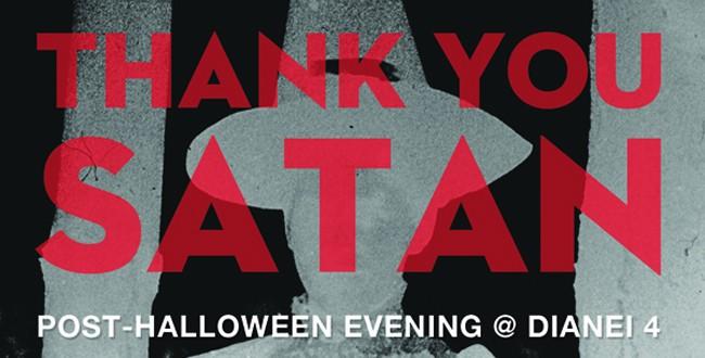 Thank you Satan!, Bucureşti, 1 noiembrie 2012