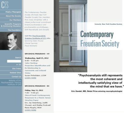 New York Freudian Society şi Institutul său şi-au schimbat denumirile