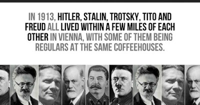 Viena 1913: cand Freud, Hitler, Trotsky, Tito si Stalin au trait in acelasi loc