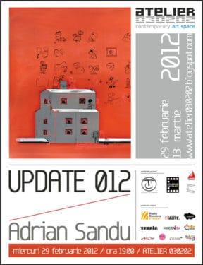 "Adrian Sandu, ""UPDATE 012″ @ ATELIER 030202"