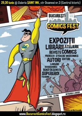 Bucuresti ComicsFest 2013