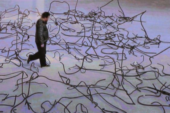Ai Weiwei, S. A. C. R. E. D. + Straight = Disposition