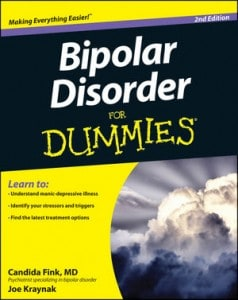 Bipolar Disorder For Dummies, 2nd Edition Book Cover