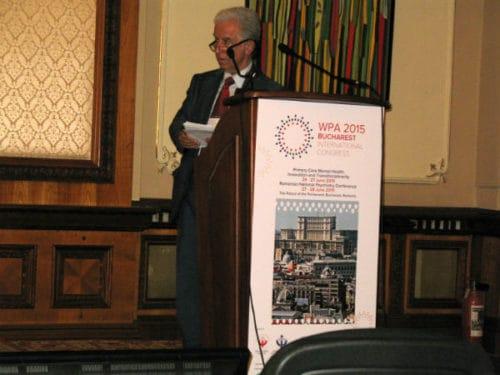 Psihiatrul Bulent Coskun trauma Congresul International al Asociatiei Mondiale de Psihiatrie / WPA Congress 2015