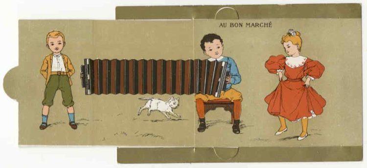 A fost trimis un acordeon si a inceput razboiul