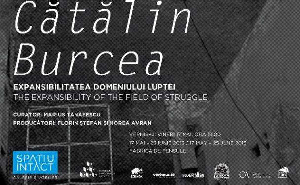Cătălin Burcea, Expansibilitatea domeniului luptei, Spațiu Intact, Cluj-Napoca