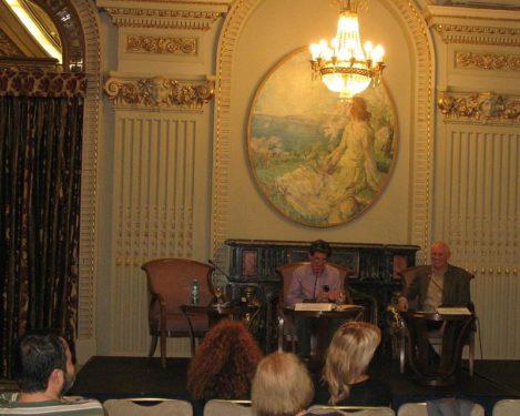 Vasile Dem. Zamfirescu şi Stephen Seligman: Inchiderea conferintei