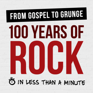 100 de ani de rock in nici un 1 minut