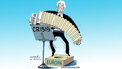 Europa, deprimată şi în recesiune