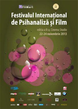 A 2-a editie a Festivalului International de Psihanaliza si Film, Cinema Studio, 22-24 noiembrie 2013