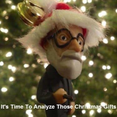 freud analyze christmas gifts