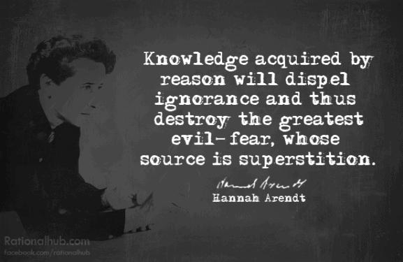 """Hannah Arendt: """"A încerca să înţelegi nu este acelaşi lucru cu a ierta!"""""""