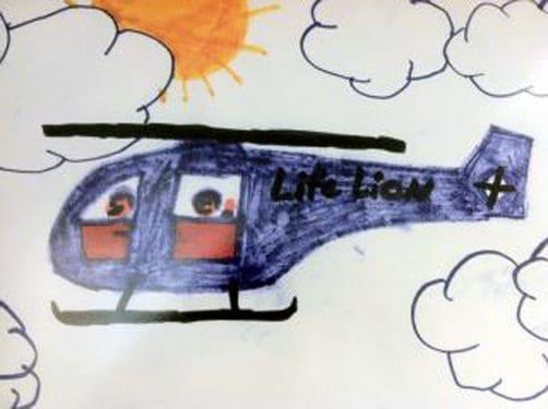 Ai putea sa-mi desenezi un elicopter?