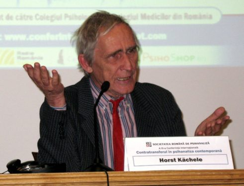 Horst Kächele: Is it possible to measure countertransference?