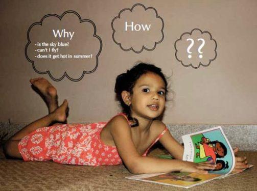 Intrebarile copiilor si semnificatia acestora
