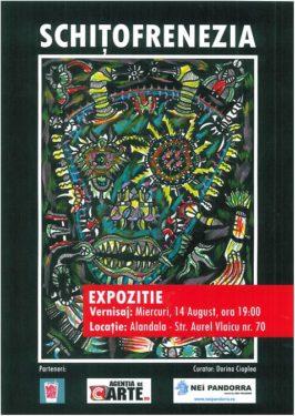 Laurentiu Zloteanu, Schiţofrenezia, Alandala Cafe-Gallery, 14 august