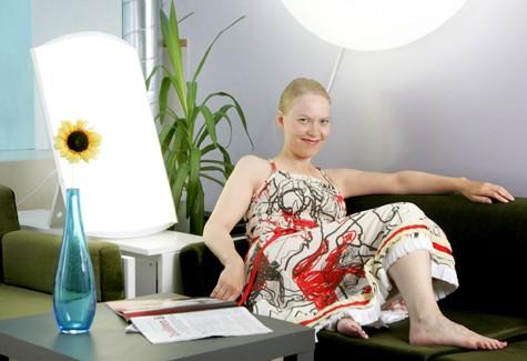 Tratarea depresiei vârstnicilor prin fototerapie