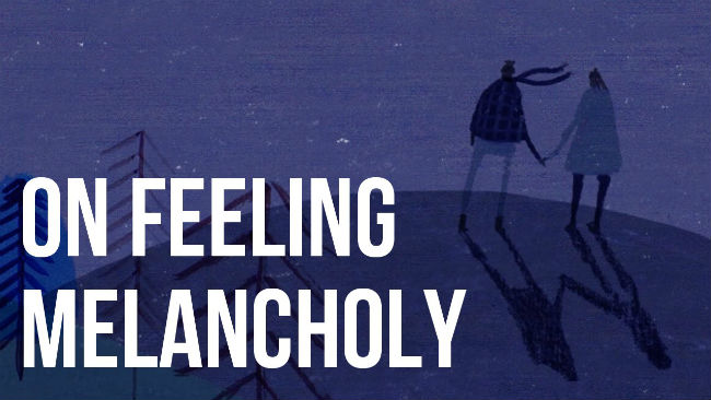 melancolie tristete