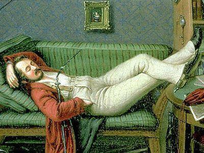 oblomov regressus ad uterum narcisism primar