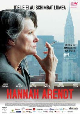 Margarethe von Trotta, Hannah Arendt, 24 mai 2013