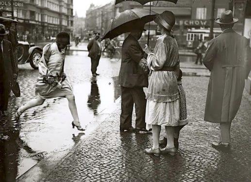 O zi ploioasă
