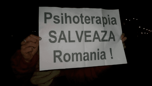 Psihoterapia salveaza Romania