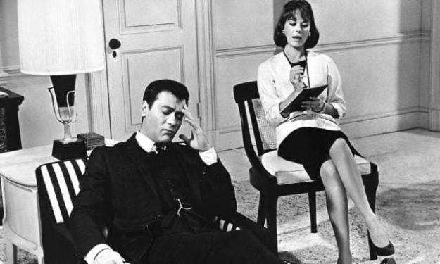 Psihanaliza Tony Curtis Natalie Wood Sex and the Single Girl